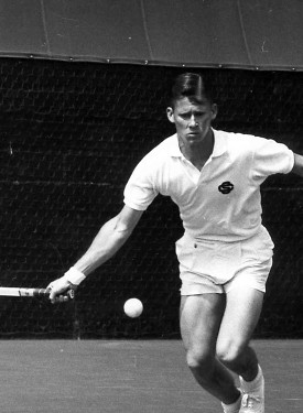 Dennis as the youngest Wimbledon doubles champion in history